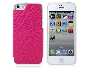 Electroplating Ball Pattern Design PC Protective Case for iPhone 5 (Red) + Worldwide free shiping