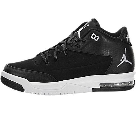 Jordan Flight Origin 3 BG Black/White-White-Black (6 M US Big Kid) by Jordan