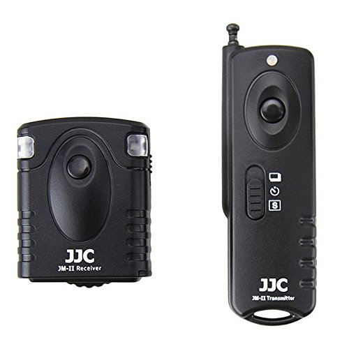 JJC JM-K(II) Wireless Shutter Release for Fujifilm Finepix HS35EXR HS28EXR HS25EXR HS33EXR (Black)
