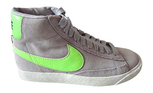 sneakers Haute Lthr Blazer 615898 Baskets Hi Top Grey Chaussures Nike aS7g6qwvx6