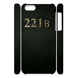 221B CUSTOM 3D Cell Phone Case for iPhone 4/4s LMc-36627 at LaiMc