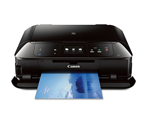 - CANON MG7520 Wireless Color Cloud Printer with Scanner and Copier, Black (Discontinued By Manufacturer)
