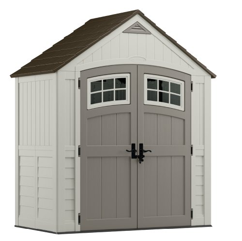 Suncast BMS7400 Cascade Blow Molded Resin Storage Shed