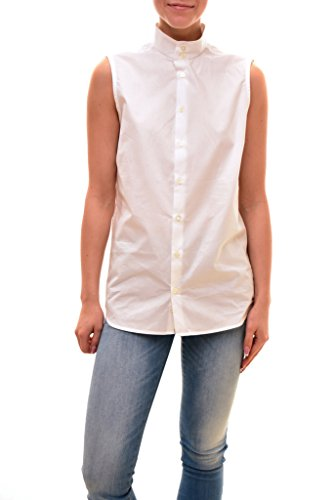 - Diesel Women's Authentic Sleeveless Cilian Top White Size 48