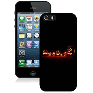 Personalized Phone Case Design with Halloween Pumpkins Glowing Dark iPhone 5s Wallpaper