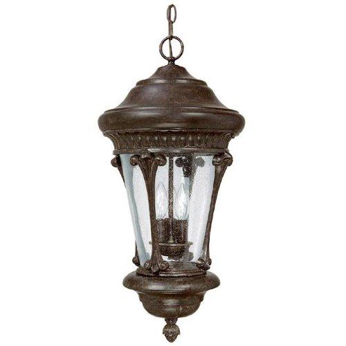 Highland Park Outdoor Light - Capital Lighting 9736TS 3 Light Highland Park Hanging Outdoor