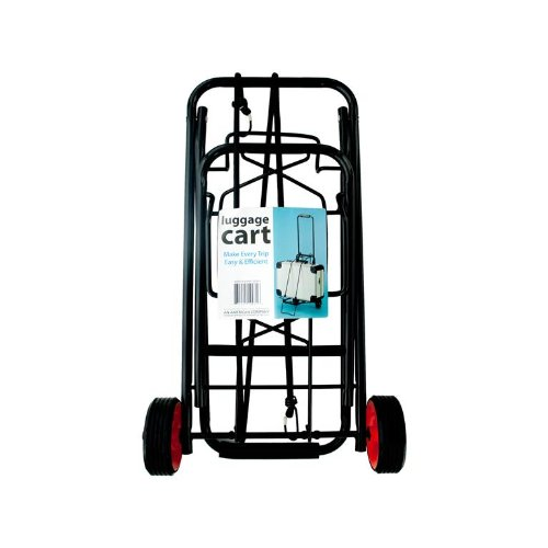 Kole Imports Portable Folding Luggage Cart OC643