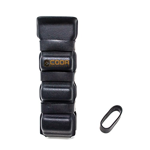 Coda Evolution PCC AR9 Mag Pouch - Fits Glock and Colt SMG 9mm Magazine - Smooth Draw Pistol Caliber Carbine Competition Ready - Tek-Lok and ELS Compatible
