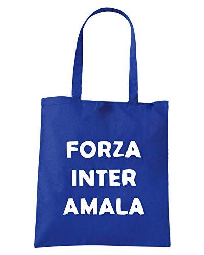 FORZA Borsa Blu Royal AMALA TUM0041 ULTRAS INTER Shopper wppqZrX