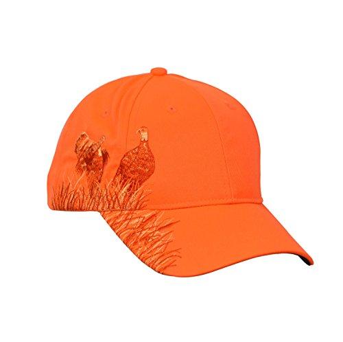 Tirrinia Men Hunting Hat Orange Embroidered Baseball Cap Adjustable Back Closure, Turkey
