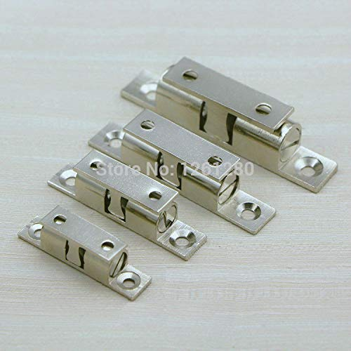 4 pieces XL brass cabinet Catches metal furniture Hardware door catches and door closer kitchen Cabinets hardware by Kasuki (Image #1)
