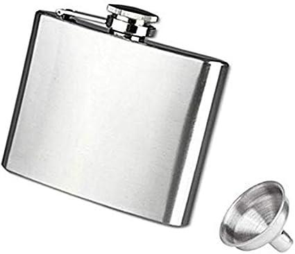 Compra Ruiboury Mini portátil de petaca 4 5 6 7 8 9 10 18 oz ...