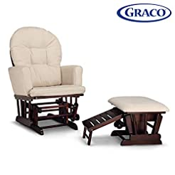 Graco Parker Semi-Upholstered Glider and...