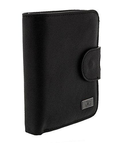 Jacky&Celine J33-001 NERO Black Multifunction Compact Wallet for womens - Celine Wallet