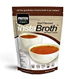 InstaBroth, Collagen and Gelatin Rich Bone Broth Powder with 12.5g Protein (6.4oz) (Beef) Review