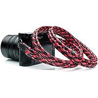 Vi Vante Ultime Phoenix; Red & Black Braided Top Grain...