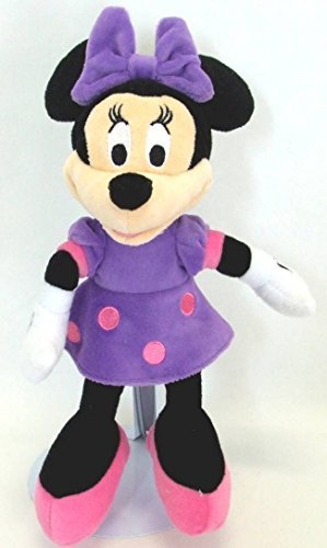 Just Play Plush Minnie Mouse - Purple by Disney