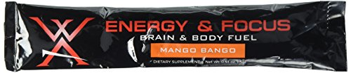 Wilderness Athlete Energy & Focus Energy Powder, Mango Bango, 13.2 Ounce by Wilderness Athlete