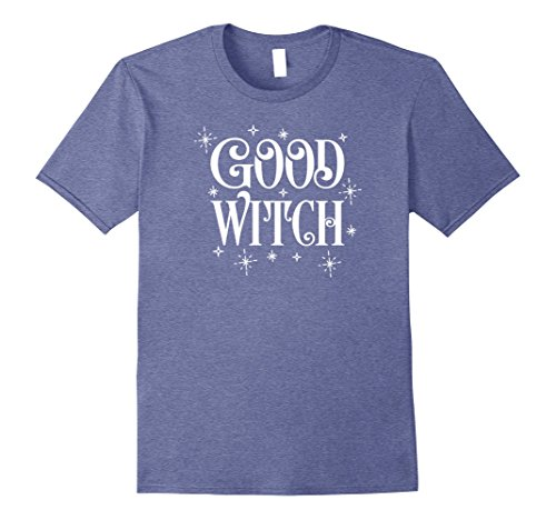 Mens Witch Costume Shirts Good Dress Up Halloween Outfits 2XL Heather Blue