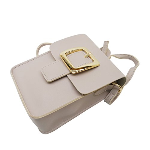 Cross Body Point Purse Beige Mini Buckle Satispac Bag qpZxaaE