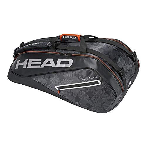 Head HEAD  Tour Team 9R Supercombi Tennis Bag Black/Silver