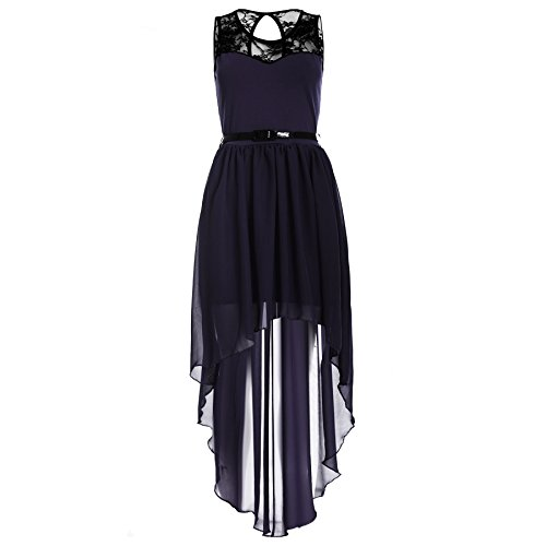 Buy belted lace dress plus size - 1