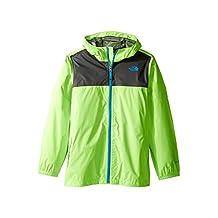 The North Face Boys' Zipline Rain Jacket (XX-Small, Power Green)