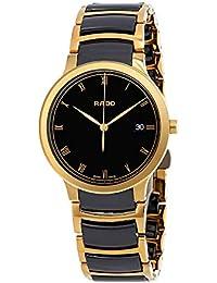 Centrix Gold-tone PVD and High-Tech Ceramic Watch R30527152. Rado