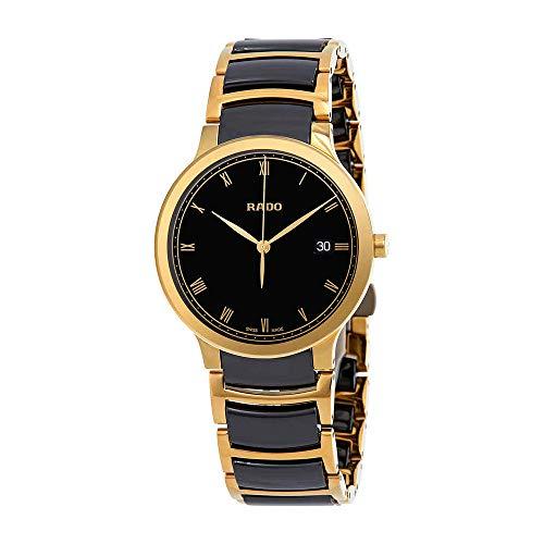 Rado Centrix Gold-tone PVD and High-Tech Ceramic Watch R30527152