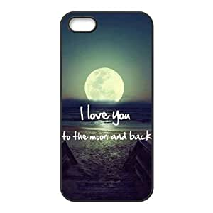 I love you to the moon and back New Fashion Case for Iphone 5,5S, Popular I love you to the moon and back Case