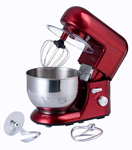 EJIA Multifunctional Red 5 Litre Food Mixer With Meat Gri...