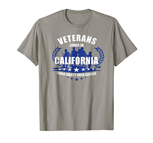 (Veterans living in California never forget their service)