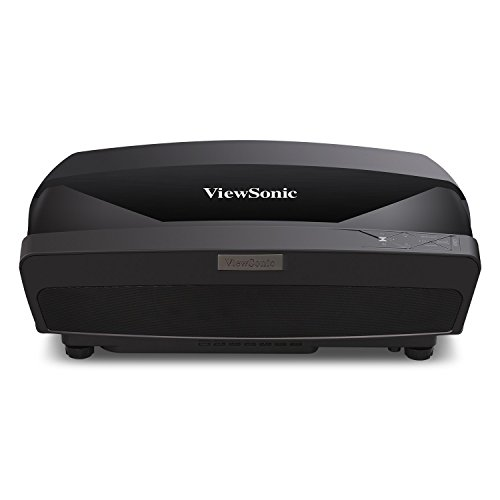 ViewSonic LS820 1080p Projector with Ultra Short Thow Lens 3500 Lumens and 6-Segment Color Wheel for Home Theater from ViewSonic