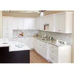 10×10 Tuscany Shaker White Kitchen