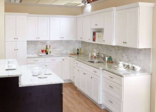 10x10 Tuscany Shaker White Kitchen