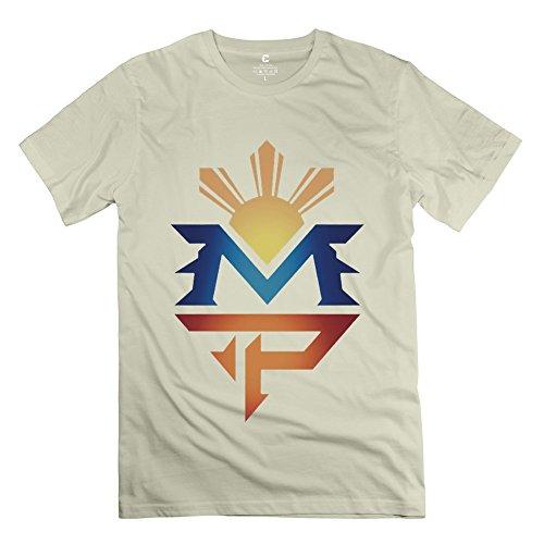 Cute Manny Pacquiao Logo Men's Tee Natural Size XS (Unlocked Samsung Galaxy Nexus)