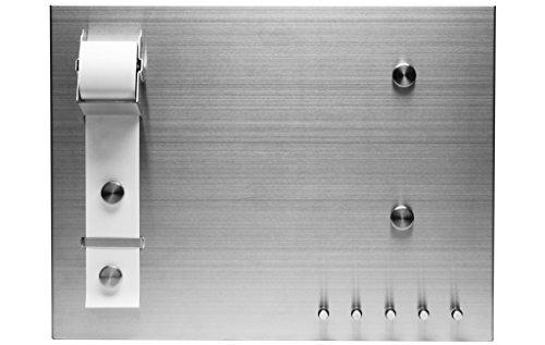 Red Vanilla OT300-674 Magna Memo Board with Magnets,Silver,18.5