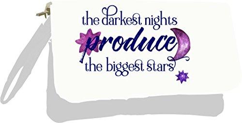 Bag Produce Biggest Quote Owl Clutch The Gold Nights Statement Silver Night Darkest Stars Metallic The I8qEP8