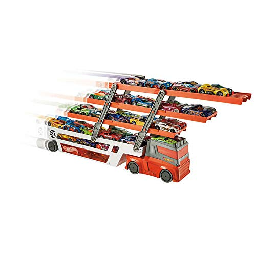 - mega hauler Hot Wheels 20 Vehicles