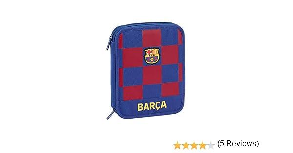 FCB FC Barcelona Estuche, Niños Unisex, Azul Marino, 19.5x24.8x4.5: Amazon.es: Ropa y accesorios