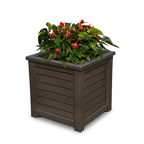 nd 20x20 Planter Square Patio, Espresso ()