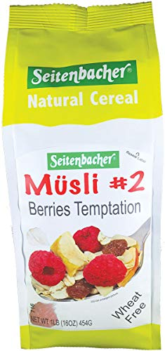 (Seitenbacher Muesli #2 Berries Temptation, 16 Ounce (Pack of 6))