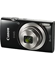 Canon IXUS 185 Digital Camera(IXUS185BK) 2.7 Inch Display