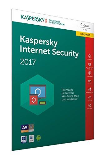 Kaspersky Internet Security 2017 Upgrade - [Online Code] (Frustfreie Verpackung)