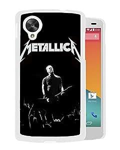 Metallica On Stage (2) Google Nexus 5 Phone Case On Sale