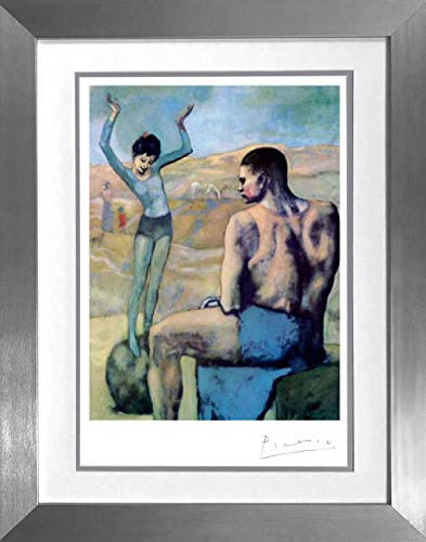 Ball Lithograph - EliteWorldAuction Picasso-Acrobat on a Ball-Lithograph