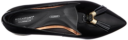 Mujer Para Total black Zuly Luxe Mocasines Loafer Motion Rockport Negro x1q0RvFx