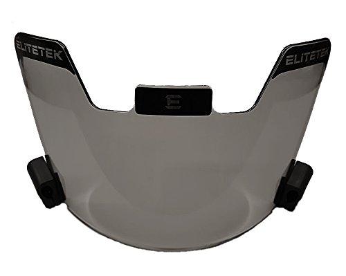 EliteTek Football & Lacrosse Eye-shield Visor (Smoke Tinted)