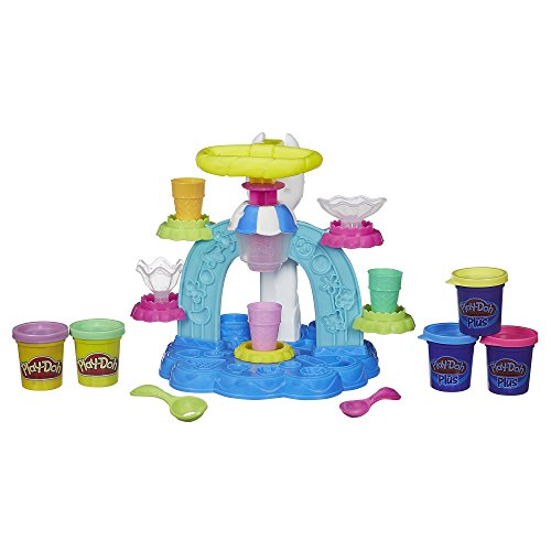 Play-Doh Sweet Shoppe Swirl and Scoop Ice Cream Playset (Play Doh Ice Cream Set compare prices)
