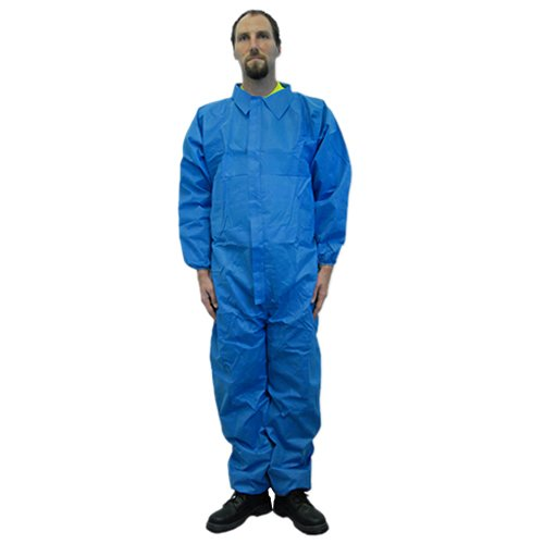 Majestic Glove 74-201F//X3 FR Blazetex SMS Coverall 3X-Large Pack of 25 Non-Static Blue Majestic Gloves